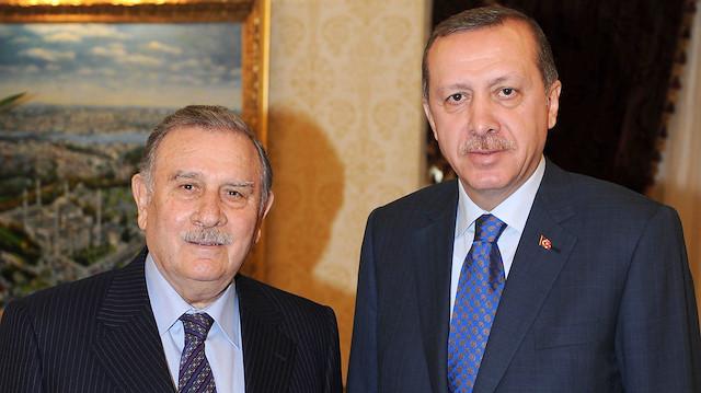 Cumhurbaşkanı Erdoğan'dan Yıldırım Akbulut için taziye mesajı