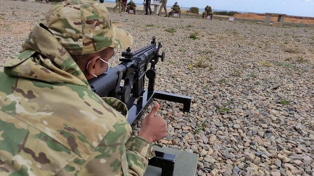 Mehmetçik Libya'da eğitime devam ediyor