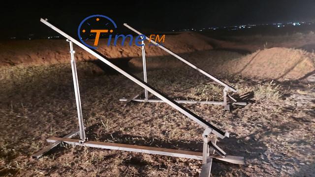 Türk üssüne saldırıda kullanılan fırlatma rampaları Haşdi Şabi bölgesinde bulundu