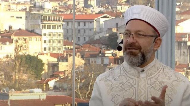 Diyanet İşleri Başkanı Ali Erbaş: Türkiye'de zekata gereken önem verilmiyor