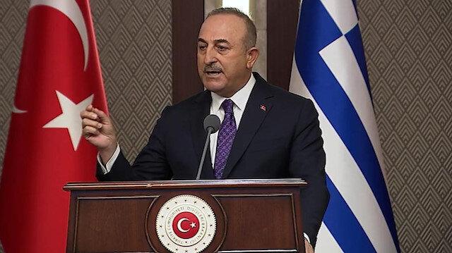 Dışişleri Bakanı Çavuşoğlu'ndan Yunan mevkidaşı Dendias'a sert tepki: Türkiye'ye yönelik ithamları asla kabul etmeyiz