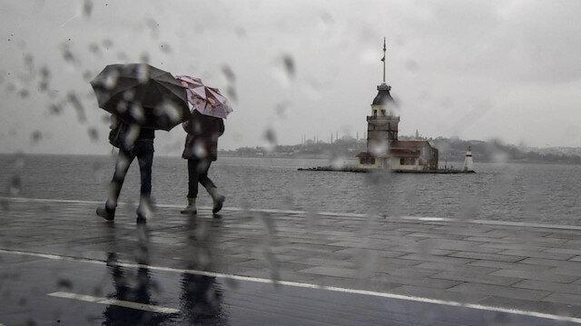 Meteorolojiden İstanbul başta olmak üzere çok sayıda ile için sağanak yağış uyarısı