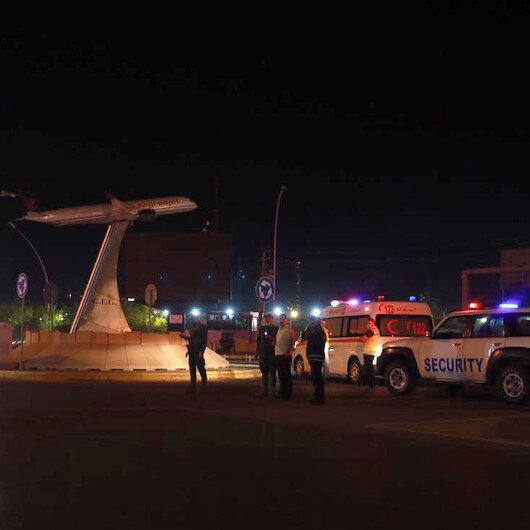 Erbil Uluslararası Havalimanına füze saldırısı