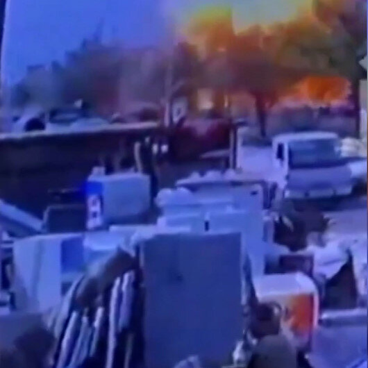 Bağdat'taki bombalı saldırının görüntüleri ortaya çıktı