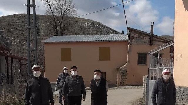Sivas'ta hiç Koronavirüs vakası görülmeyen köyde aşılama tamamlandı