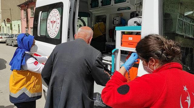 Karantinada olması gerekiyordu: Ambulans çarpınca kazada ortaya çıktı