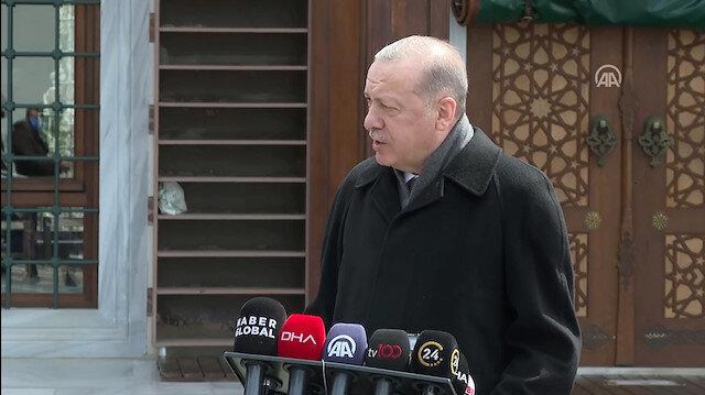 Cumhurbaşkanı Erdoğan: Sayın bakanımız Dendias'a haddini bildirdi