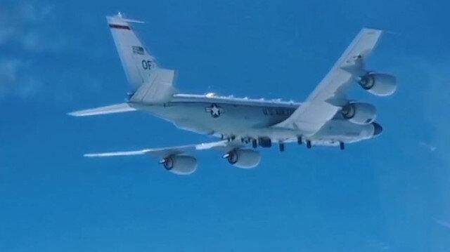 Rus avcı uçağı Pasifik Okyanusu üzerinde ABD'nin keşif uçağına önleme yaptı