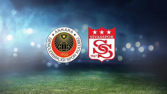 Gençlerbirliği-Sivasspor (CANLI)