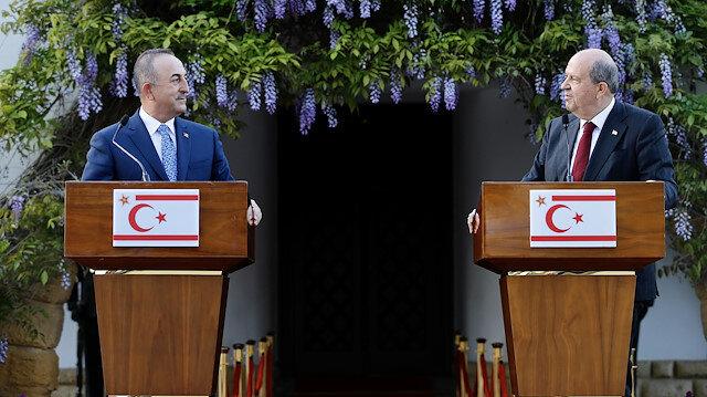 Bakan Çavuşoğlu KKTC'de: Artık federal çözüm için vakit harcamayacağız