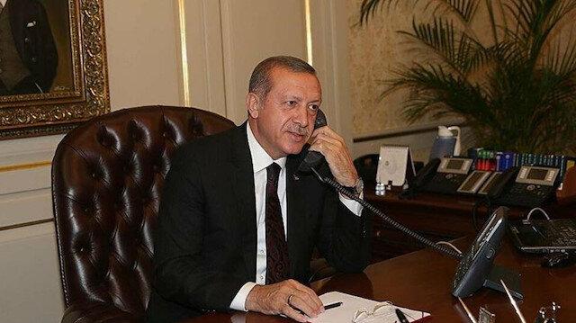 Cumhurbaşkanı Erdoğan dünya liderleri ile görüştü