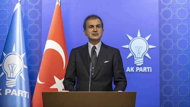 AK Parti Sözcüsü Çelik'ten Türkiye'yi hedef alan Yunan Bakan Dendias'a tepki