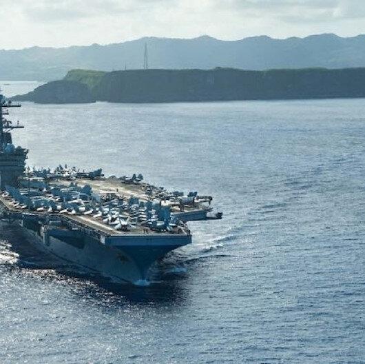 """مدمرتان تغادران القاعدة البحرية الأمريكية بخليج """"سودا"""" اليوناني"""