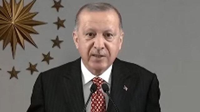 Cumhurbaşkanı Erdoğan: Bizi engellemek isteyenlere cevabımızı hep daha büyük eserler yaparak verdik