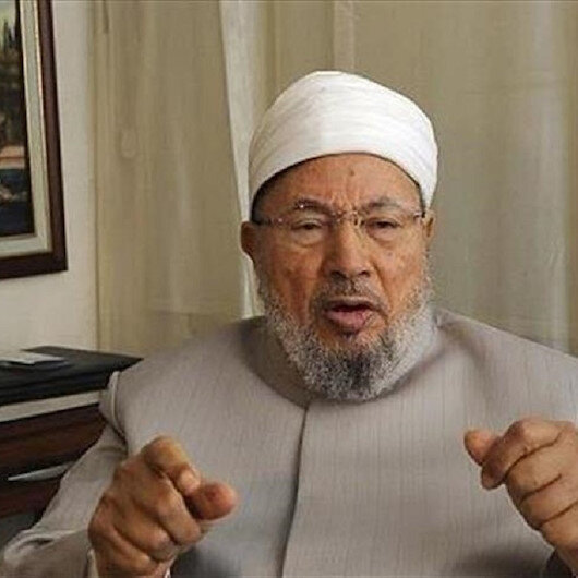 إصابة الشيخ يوسف القرضاوي بكورونا
