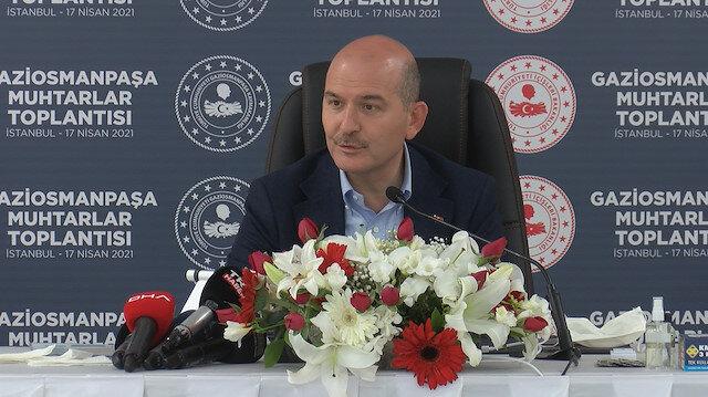 İçişleri Bakanı Soylu: İstanbul özelinde ciddi bir deprem hazırlığı içindeyiz