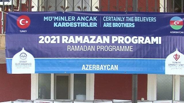 Türkiye'nin Bakü Büyükelçiliği Ahıska Türklerine Ramazan paketi dağıttı