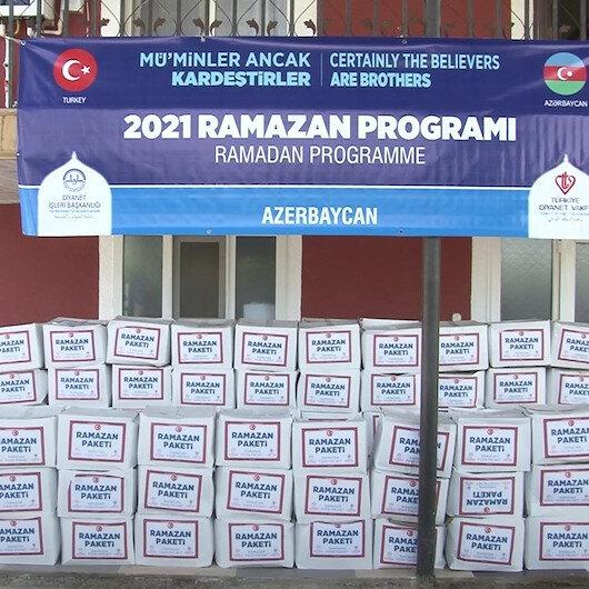Türkiyenin Bakü Büyükelçiliği Ahıska Türklerine Ramazan paketi dağıttı