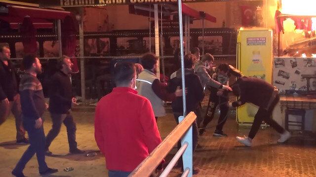 Antikacı dükkanı küle dönen baba ve oğul öldüresiye dövüldü