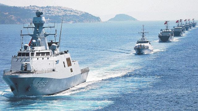 Donanmamız İsrail'i korkuttu: Doğu Akdeniz'in en güçlüsü