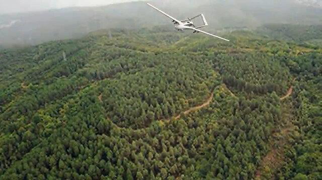 Orman yangınlarıyla İHA'lı mücadele: 24 saat gözetleyecekler
