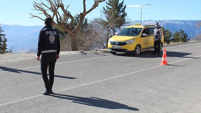 Karaman'da bir köy karantinaya alındı: Giriş ve çıkışlar kapatıldı