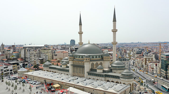 Taksim Cami ramazanın son cuması ibadete açılıyor