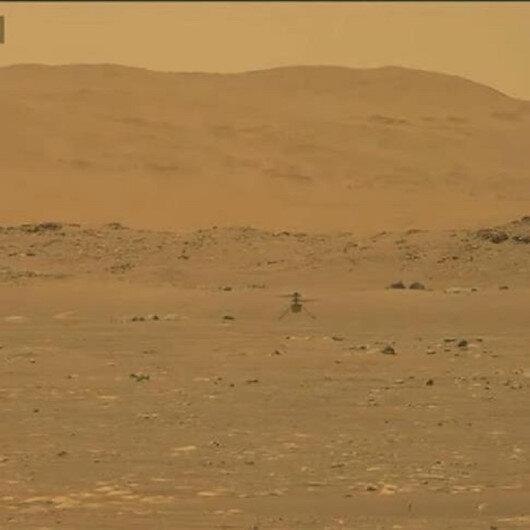 """لأول مرة.. مروحية """"ناسا"""" تحلق بنجاح في الغلاف الجوي للمريخ"""