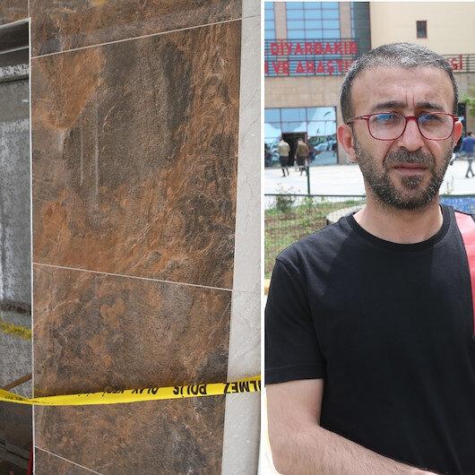 Diyarbakır'da asansör 11. kattan yere çakıldı: Oğlunu korumak için sarılan babanın durumu ağır