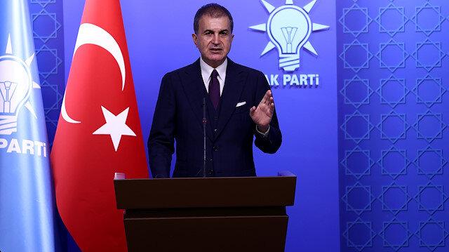 AK Parti Sözcüsü Çelik'ten Yunan Bakan Dendias'a tepki: Diplomasi tarihine yakışıksızlık örneği olarak girecek
