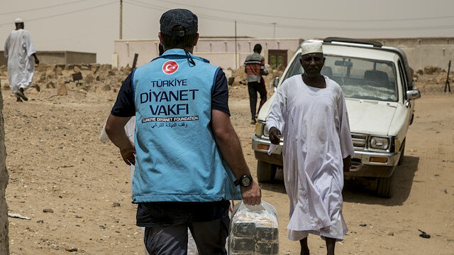 Türkiye Diyanet Vakfı Sudan'da 2 bin 600 aileye gıda yardımı yapacak