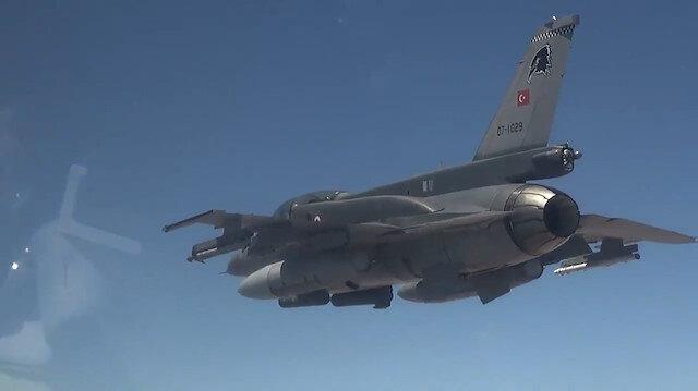 PKK'ya hava harekatı: 9 terörist öldürüldü