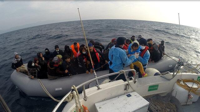Yunanistan'dan insanlık dışı uygulama: 54 düzensiz göçmeni ölüme ittiler