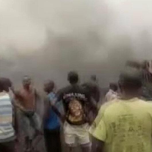 Nijeryada akaryakıt tankerinin patlaması sonucu 7 kişi hayatını kaybetti