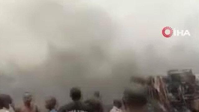 Nijerya'da akaryakıt tankerinin patlaması sonucu 7 kişi hayatını kaybetti