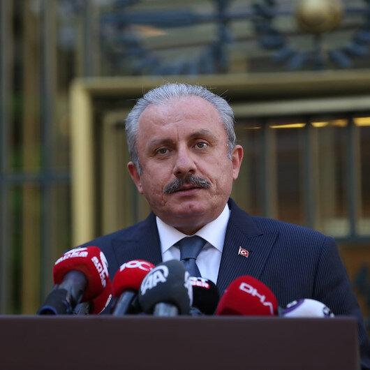 TBMM Başkanı Şentop: Mısır ve Libya için bir dostluk grubunun kurulması önemli