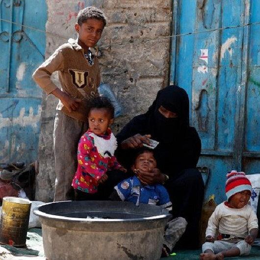İç savaştan yorgun düşen Yemenliler ramazanda artan insani yardımlar sayesinde rahat nefes alıyor