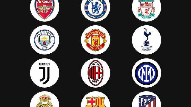 Atletico Madrid ve Inter, Avrupa Süper Lig'de olmayacak