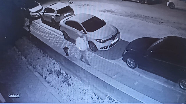 Bursa'da kameraların önünde aracı böyle aldı götürdü