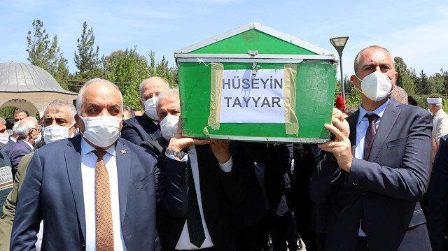 Şamil Tayyar'ın babası son yolculuğuna uğurlandı