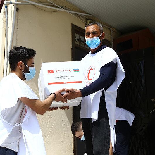 أذربيجان.. الهلال الأحمر التركي يوزع مساعدات لـ5 آلاف أسرة