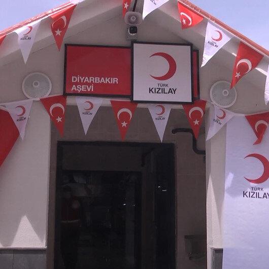 Türk Kızılay Genel Başkanı Kerem Kınık, Diyarbakır Aşevinin açılışını yaptı