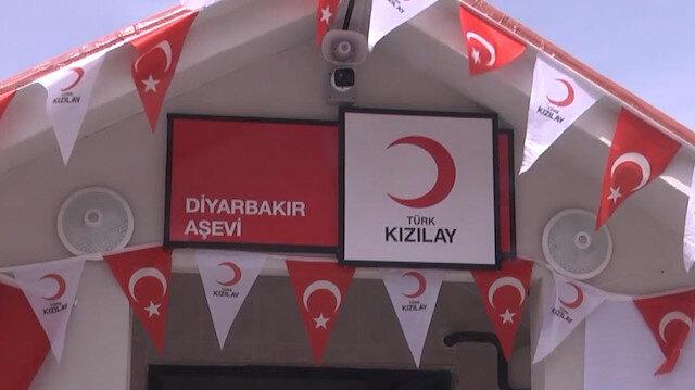 Türk Kızılay Genel Başkanı Kerem Kınık, Diyarbakır Aşevi'nin açılışını yaptı