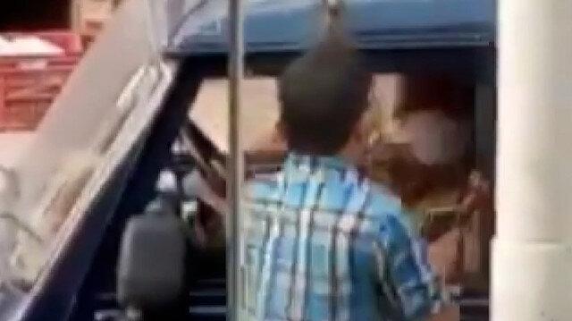 Hindistan'da maske cezası kesilen adam polise tokat atıp kaçtı