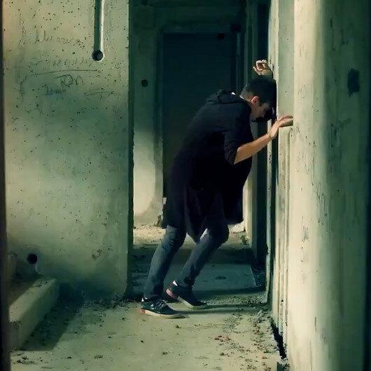 Narkotik polisinden uyuşturucuyla mücadele için rap müzikli klip