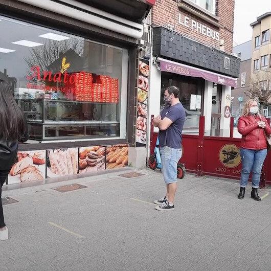 Osmanlı'nın askıda ekmek geleneği Brüksel'de yaşatılıyor