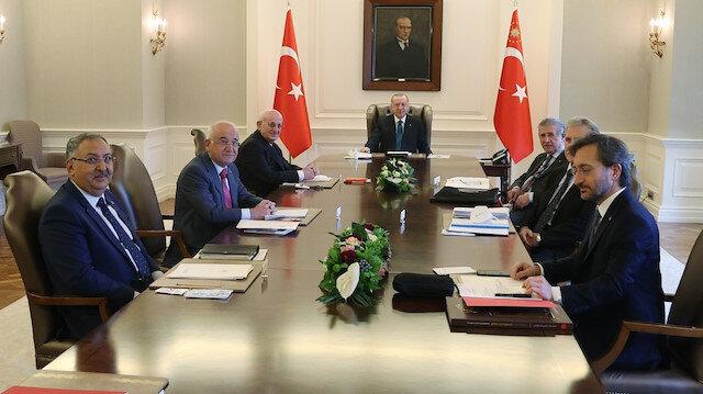 Yüksek İstişare Kurulu, Cumhurbaşkanı Erdoğan'ın başkanlığında toplandı