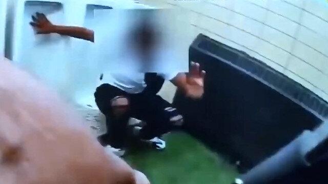 ABD'de yine polis şiddeti: Gözaltına alınan siyahi gencin vurulma anı yayınlandı
