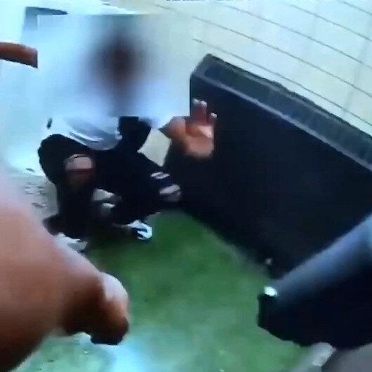 ABDde yine polis şiddeti: Gözaltına alınan siyahi gencin vurulma anı yayınlandı