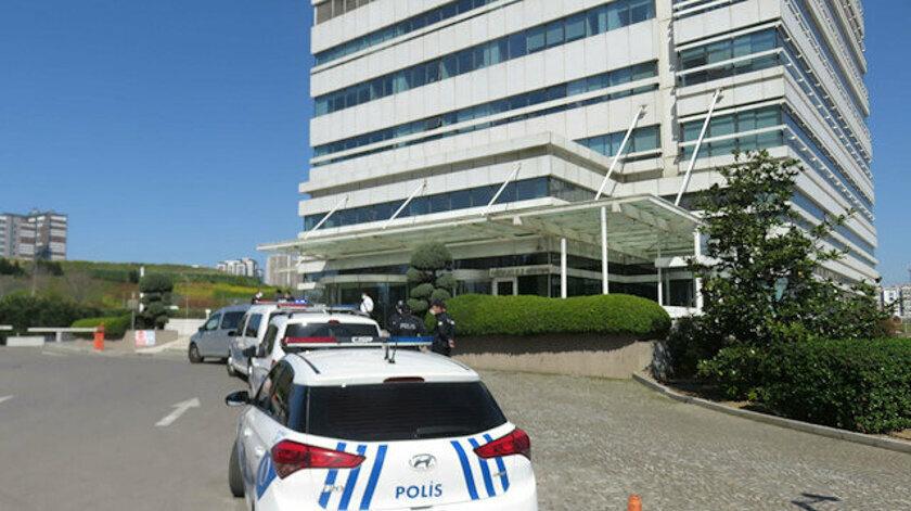 Thodex'in Kadıköy'de bulunan merkez binasına polis inceleme yaptı